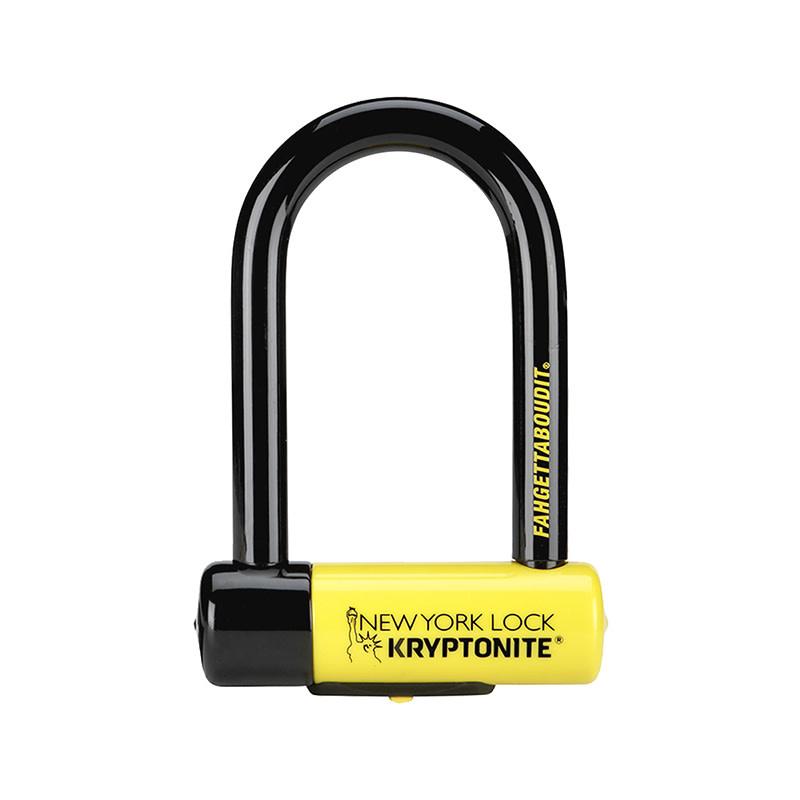 Kryptonite LOCK KRY U NY FAHGETTABOUDIT MINI 3.25x6 (18mm x 8.2cm x 15.3cm) (H)