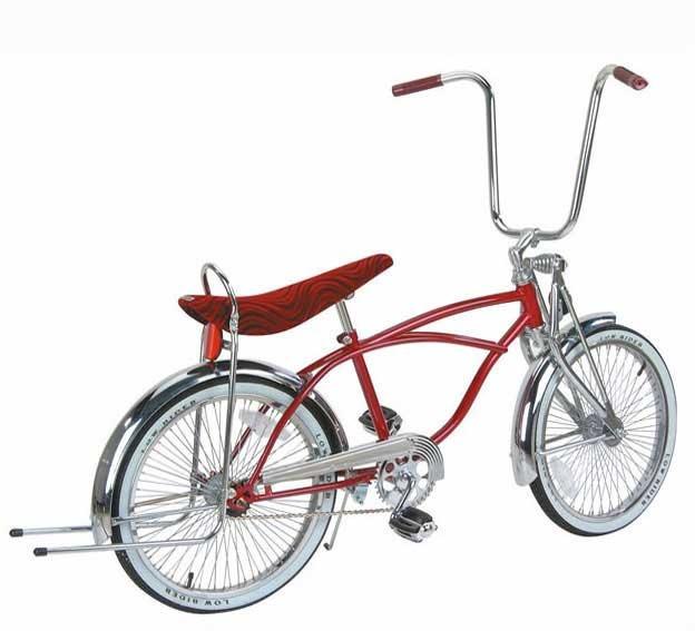 """F & R Low Riders 20"""" L.R Bike MTLC/BL"""