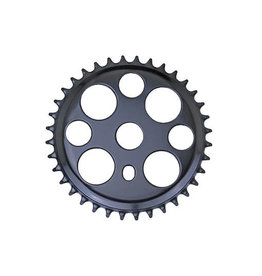 F & R Low Riders Lucky 7 Steel Sprocket 1/2 X 1/8 36t Black