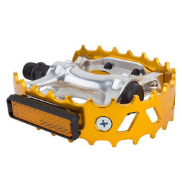 Black Ops PEDALS BK-OPS MX BEARTRAP 9/16 ANO-GD