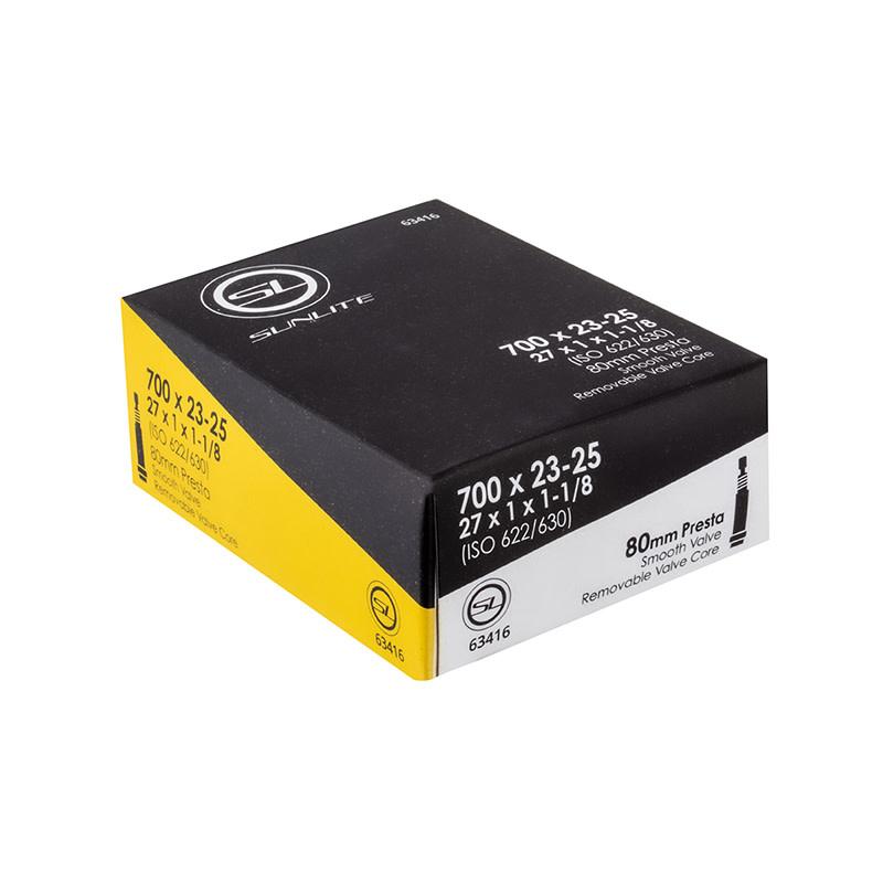 Sunlite TUBES SUNLT 700x23-25 PV80/SMTH/RC (27x1x1-1/8) FFW25mm