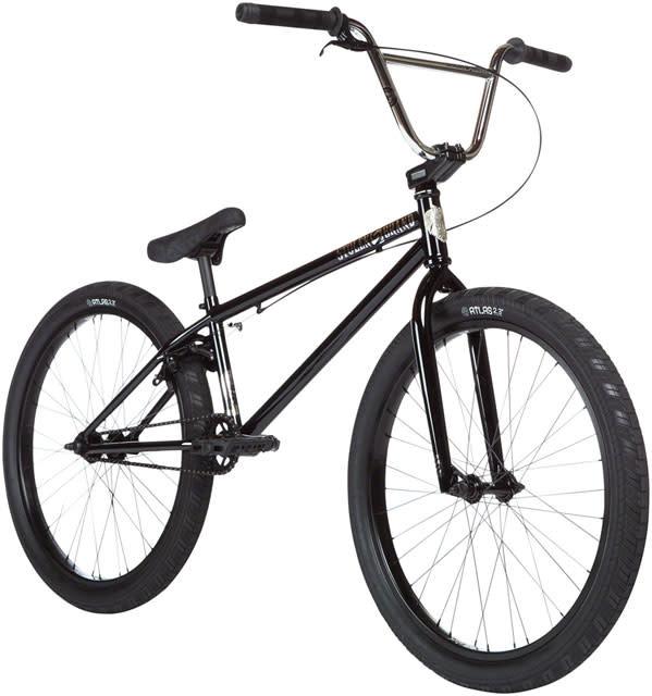 """Stolen Stolen Saint 24"""" BMX Bike - 21.75"""" TT, Black/Chrome"""