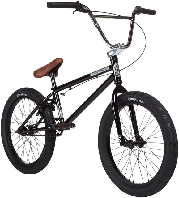 "Stolen Stolen Casino BMX Bike - 20.25"", Black/Chrome"