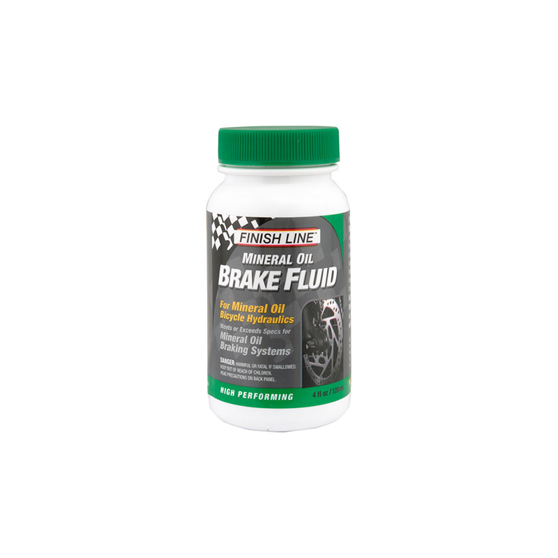 Finish Line BRAKE FLUID F-L HYD MINERAL OIL 4oz 6/cs