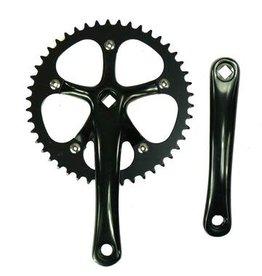 ZF Bikes Prime Track Crank  Black