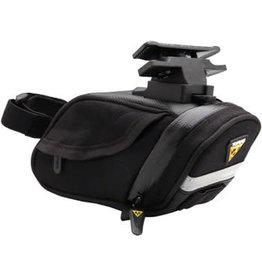 Topeak Topeak Aero Wedge DX Seat Bag with Mount: Small, Black