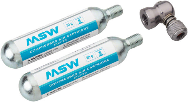 MSW MSW Windstream Push Kit with two 20g Cartridges