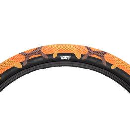Cult Cult X Vans Tire - 20 x 2.4, Clincher, Wire, Orange Camo/Black
