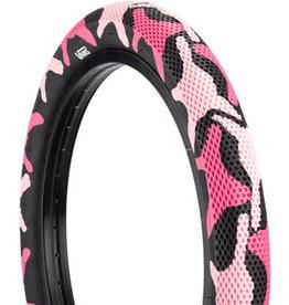 Cult Cult X Vans Tire - 20 x 2.4, Clincher, Wire, Pink Camo/Black