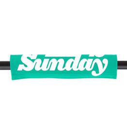 SUNDAY Sunday Reversible BMX Handlebar Pad - Black/Toothpaste