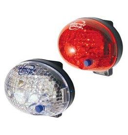 PLANET BIKE LIGHT PB COMBO BLINKY SAFETY 1-LED F&R