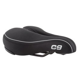 Cloud 9 SADDLE C9 COMFORT AIRFLOW SOFT TOUCH VINYL BK