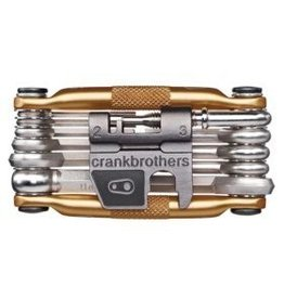 Crankbrothers Crank Brothers, Multi 17 Tool Gold