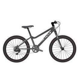 EVO EVO, Rock Ridge 24 7-Speed Kid's Bicycle, Monster Black/Silver (2018)