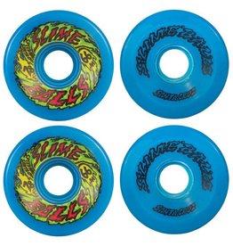 Santa Cruz Skate 66mm Slime Balls 66s Neon Blue 78a Santa Cruz Skate