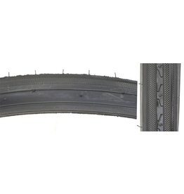 TIRES SUNLT 27x1-1/4 BK/BK RD 70lb K35 s