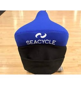 Seacycle Seat Cover Blue With Pouch