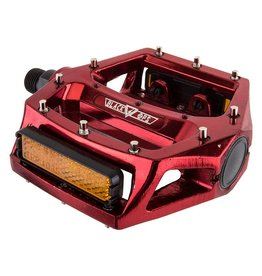 Black Ops PEDALS BK-OPS PLATFORM ALY CRMO 9/16 RD-ANO STRAP COMPATIBLE