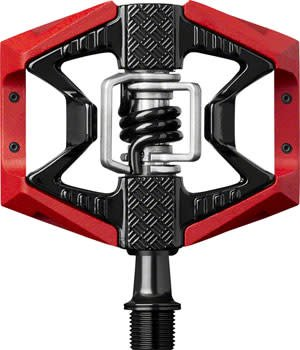 Crank Brothers Doubleshot 3 Pedals: Red/Black