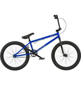 "Radio Dice 20"" 2018 Complete BMX Bike 20"" Top Tube Metallic Blue"