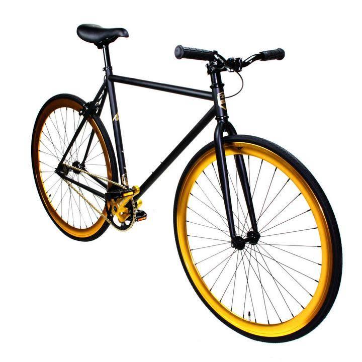 ZF Bikes Black Gold 59cm