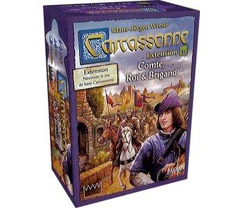 Carcassonne Ext.6 - Compte, Roi et Brigand
