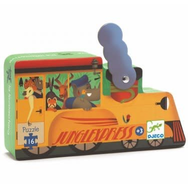 Puzzle silhouette - Locomotive 16mcx