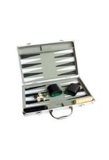Backgammon mallette en aluminium