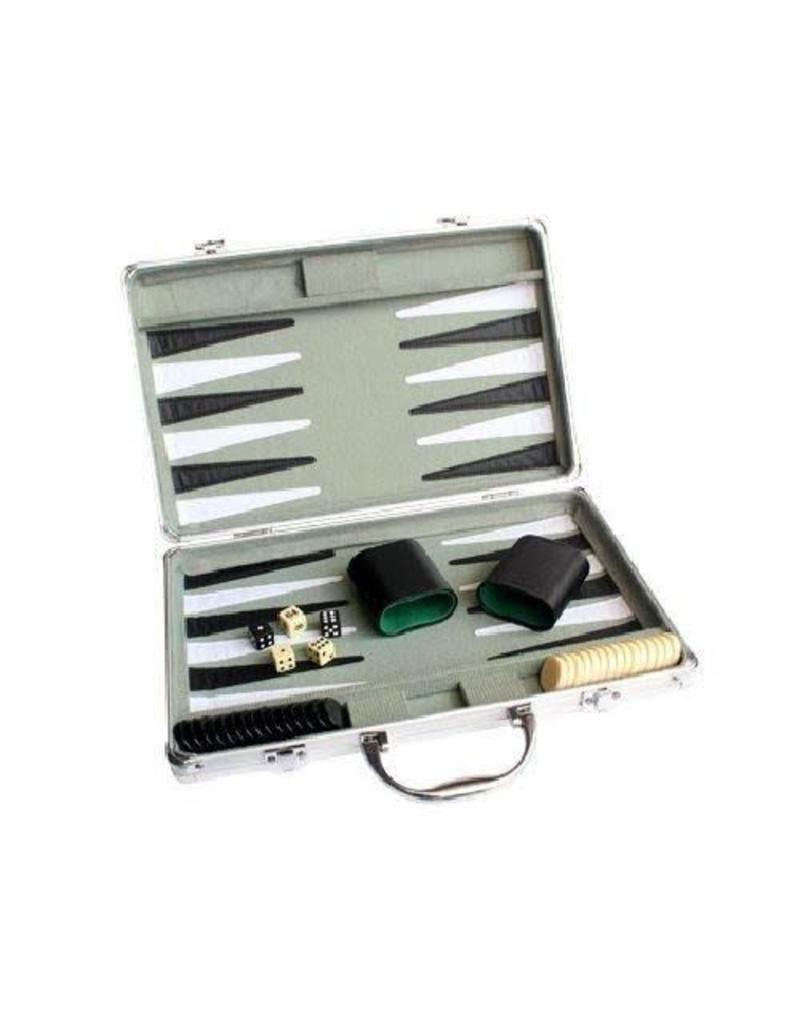 Backgammon mallette en aluminium