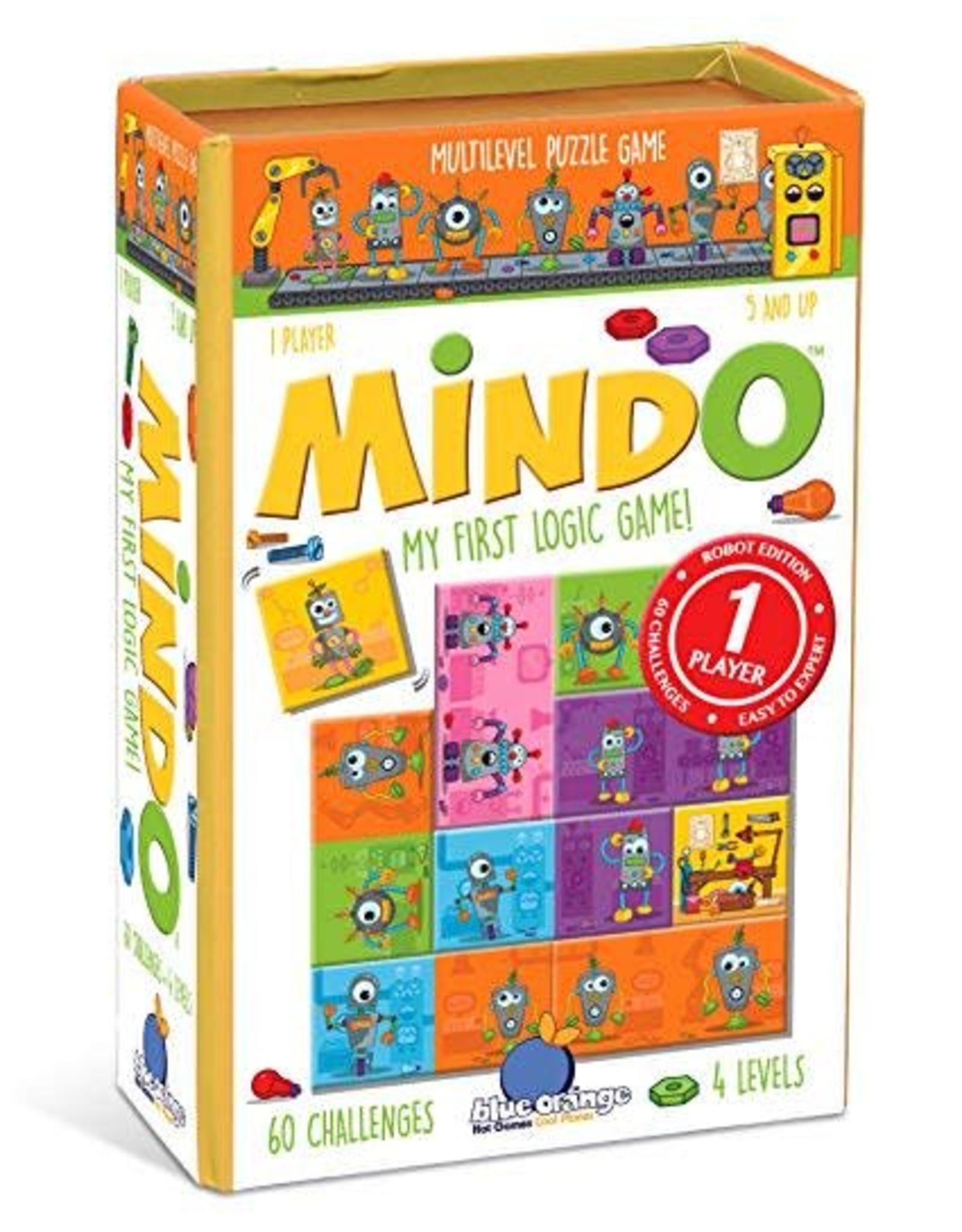 Blue Orange Mindo Robots