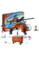 Banbao Duncan's Treasure - Hélicoptère de chasse aux trésors 261pcs