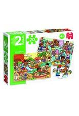 Puzzle Jumbo - Parc d'amusement 20mcx