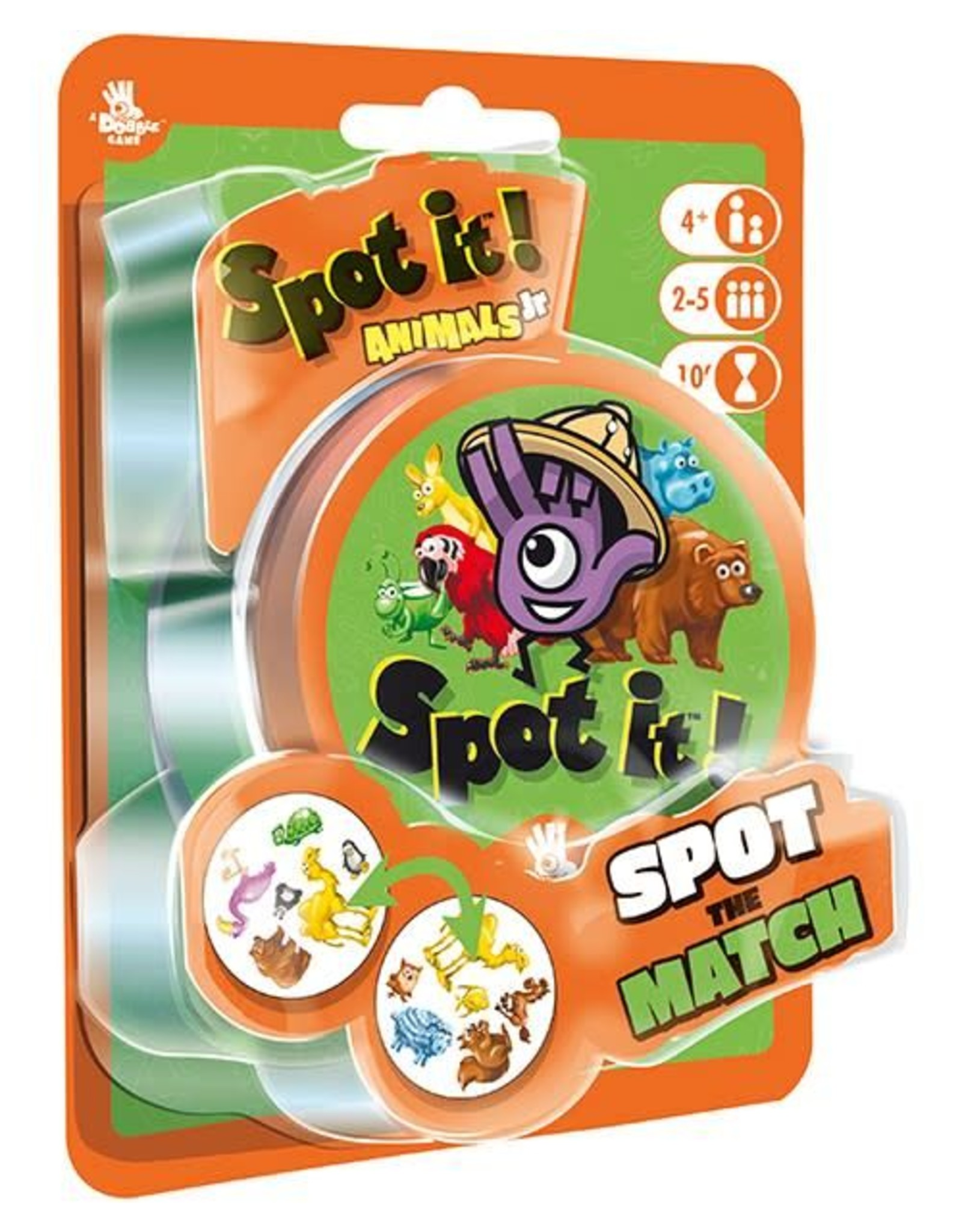 Spot it - Dobble Animal Jr
