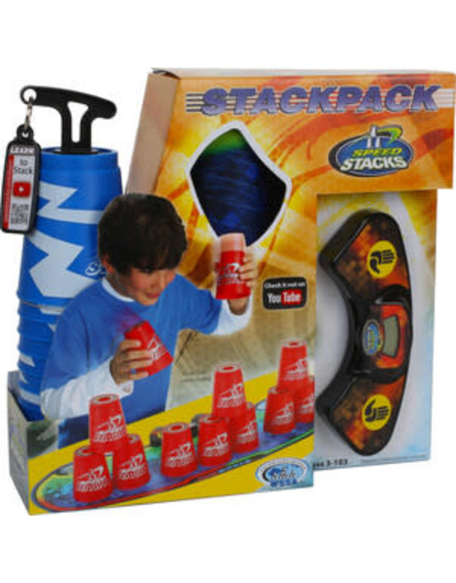 Ensemble de compétition Speed Stack - Atomic Punch