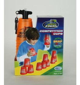 Speed Stacks compétition - 12 Gobelets (Orange)