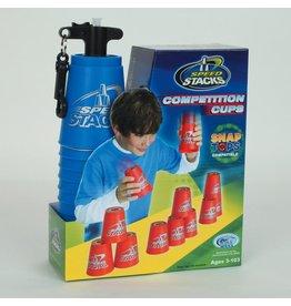 Speed Stacks compétition - 12 Gobelets (Bleu)