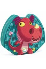 Djeco Puzzle silhouette - Emond le Dragon 24mcx