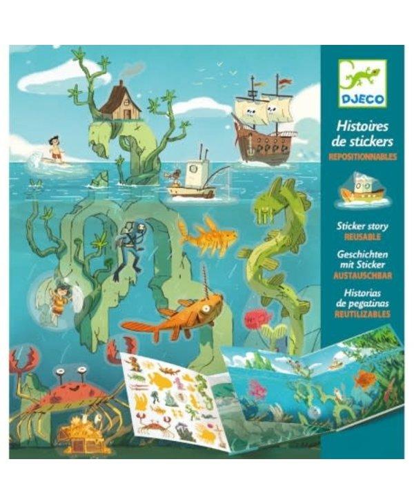 Histoires de Stickers - Les Aventures de la Mer