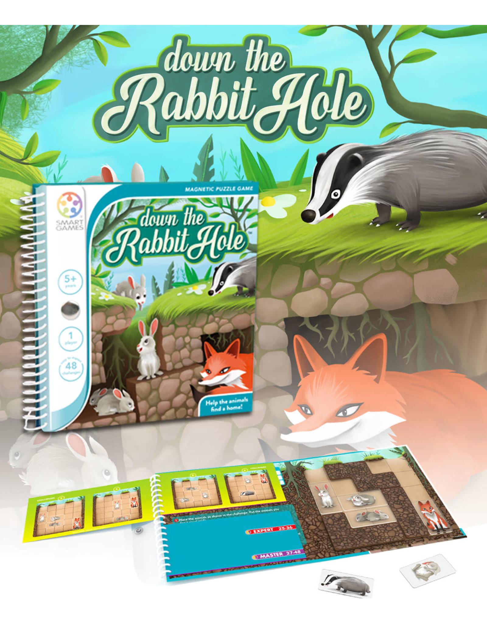 Smart Games Down the rabbit hole (Multilingue)