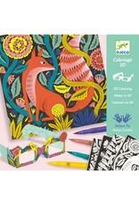 Djeco Coloriage 3D - Forêt fantastique