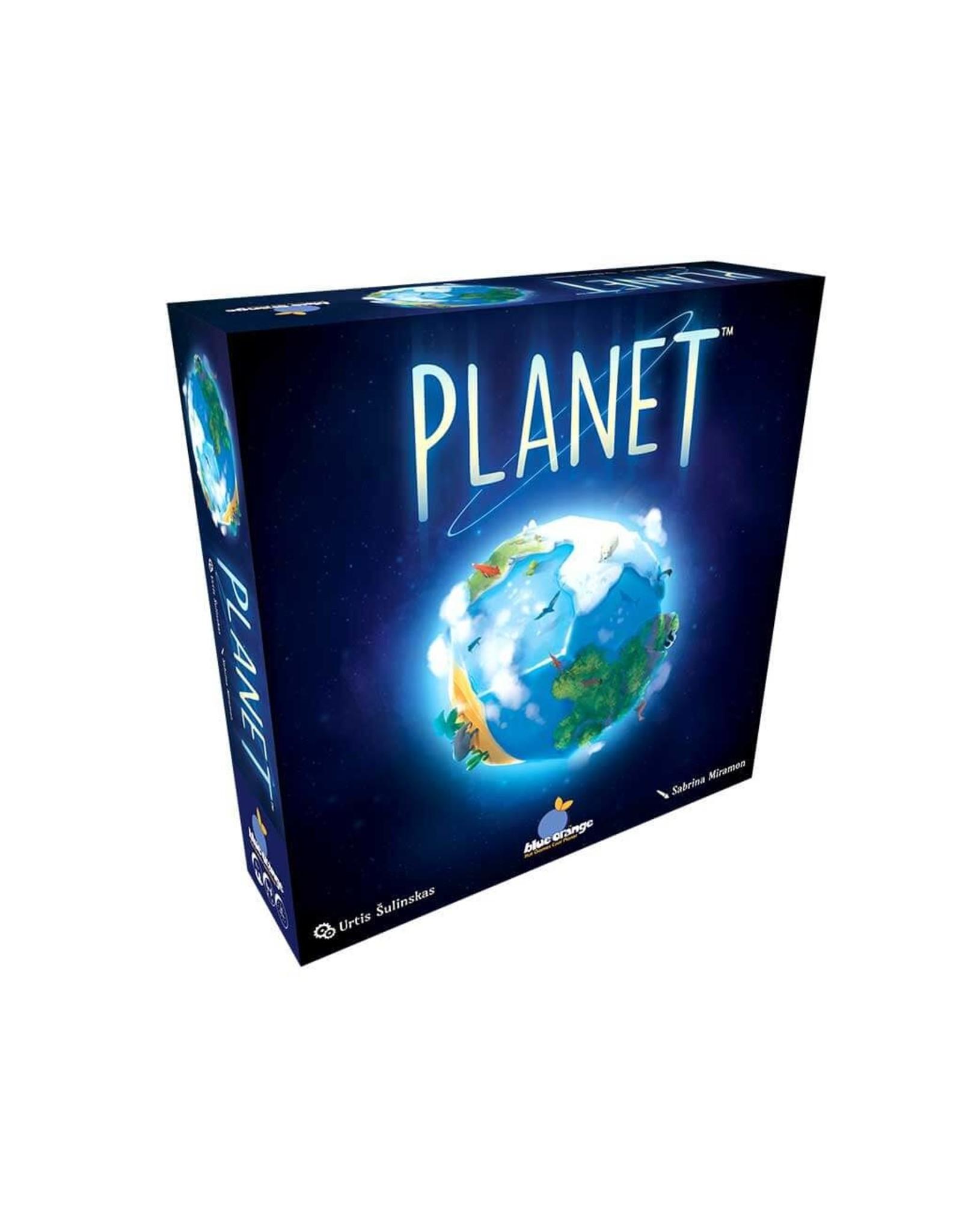 Blue Orange Planet (Multilingue)
