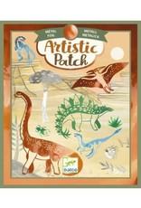 Djeco Artistic Patch métal - Dinosaures