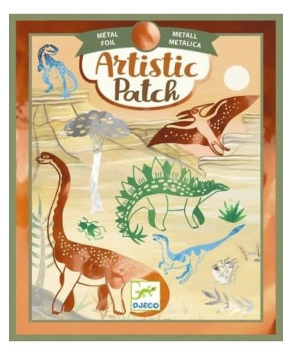 Artistic Patch métal - Dinosaures