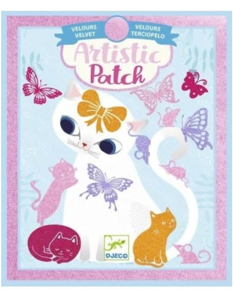 Djeco Artistic Patch - Petits animaux