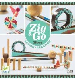 Djeco Zig et Go - 28pcs