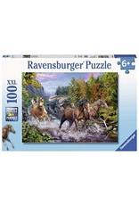 Ravensburger Chevaux dans la rivière