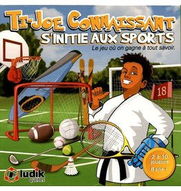 Ludik Québec Ti-Joe Connaissant s'initie aux sports