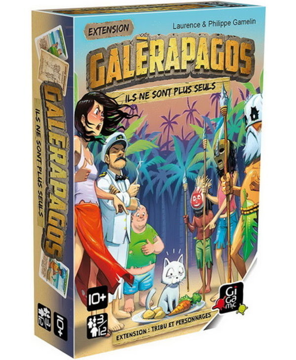 Galérapagos - Extension - Tribu et personnages