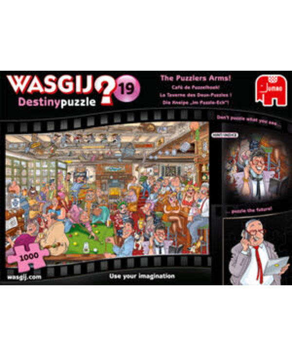 Wasgij? - No19 - La tarverne des 2 puzzles