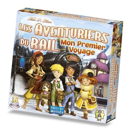Les aventuriers du rail - Mon premier voyage Europe